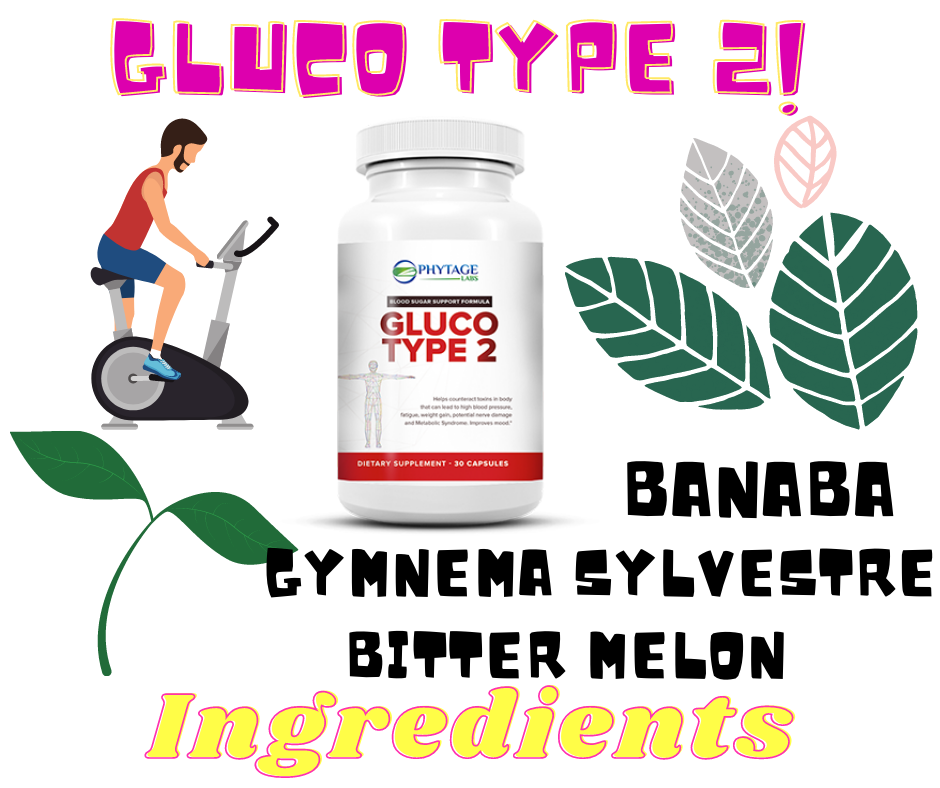 gluco type 2 ingredients